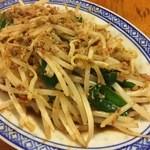 中国ラーメン揚州商人 - 豚挽き肉ともやしの辛味炒め
