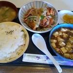 ぶるどっく - 料理写真:日替わり定食 ご飯大盛り 650円