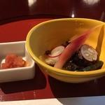田舎庵 小倉本店 - 明太子とうざく