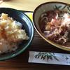 チトセ屋 うどん店 - 料理写真:うどんとミニ天丼セット