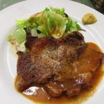 洋食入舟 - 岩中豚のポークソテー ¥1,450