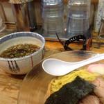 49020958 - つけ麺と汁