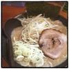 麺匠 文蔵 - 料理写真:安養寺みそラーメン。 濃厚だけどマイルド。 並ぶ。