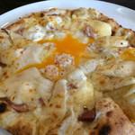 トリトン - ★★★★ コースのピザ チーズが濃厚 ピザ生地も美味しい