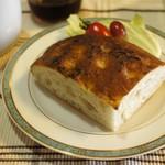 Boulangerie bee - フォカッチャで朝食