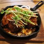 小さな森の喫茶店 レストラン ワイルドダック - 肉巻きコロッケグリル定食  922円