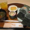 いちょう - 料理写真:なめしおにぎり定食 500円 (2016.3)
