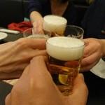 リトル成都 - まずはビールで乾杯