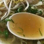 すみれ - コラーゲン満点のスープ