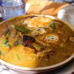 Kikuya Curry - ジャガイモ+ローストチキン
