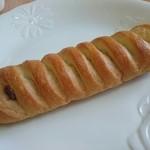 みずいろぱん - 料理写真:フランスあんぱん(130円)