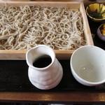 手打蕎麦 地鶏料理 はなび - 料理写真:板そば1000円。