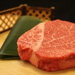 秋田牛玄亭 - 料理写真:ある日の羽後牛シャトーブリアン(メニュー写真用です)