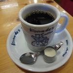 コメダ珈琲店 - ブレンドコーヒー400円(税込)