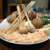 鳥多古 - 料理写真:鳥のすき焼き スタンバイ状態