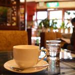喫茶 ボタン - ホットコーヒー