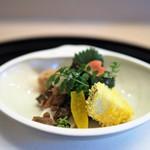京懐石 吉泉 - 前菜盛り合わせ