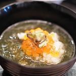 京懐石 吉泉 - いくらともずくの雑炊