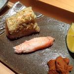 鮨しら澤 - カニと味噌