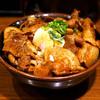 豚々亭 - 料理写真:豚丼(大)と温玉のトッピングです♪
