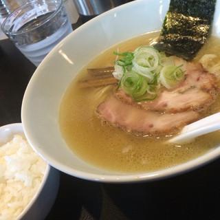 麺eiji 平岸ベース - 料理写真:あっさり塩&小ライス