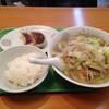 おなかの友達 萬来 - 料理写真:本日の日替わりラーメン630円(税別)