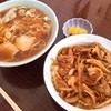 あずま - 料理写真:焼肉丼・ラーメンセット(900円)