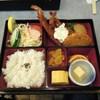 桃山 - 料理写真:エビフライ弁当