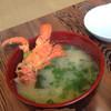 活魚民宿 港屋 - 料理写真:やどかりの仲間の味噌汁