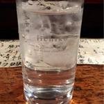 赤垣屋 - 芋焼酎六代目百合の水割り