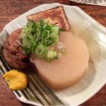 赤垣屋 - おでん、大根、がんも、豆腐