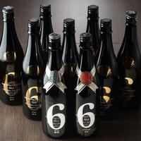 「新政」を中心とした日本酒