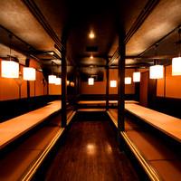 団体様の宴会に最適な完全個室を完備