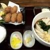 はるりん - 料理写真:カキフライ定食(ぶっかけ)