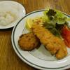 Motosakaya - 料理写真:ミックスフライ メンチ&チキン
