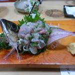 ひげでん本店 - 料理写真:活あじ・たたき