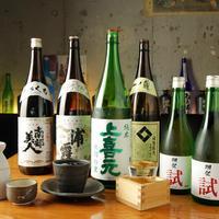 日本酒と焼酎にこだわり有!豊富な日本酒・地酒