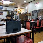 喜京屋 - テーブル席(2016年3月)