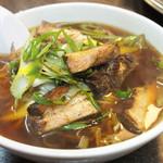 北京亭 - ネギチャーシュー麺