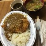 花笠食堂 - カツカレー