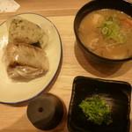 ダテ カフェ オーダー - 宮城の朝ごはんセット  仙台芋煮+選べるおにぎり2個セット650円(税別)