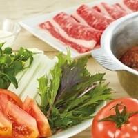 【期間限定】トマトと黒毛和牛のすき焼きセット