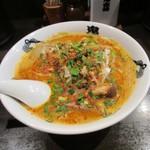 カラシビ味噌らー麺 鬼金棒 - カラシビ味噌ラーメン