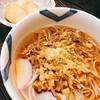 仁伊島 - 料理写真:お手軽ランチのネギ天蕎麦といなり寿司