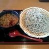 そば処はまほろ - 料理写真:豚キムチつけ麺(大盛り)