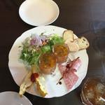 グラデボール - 料理写真:前菜