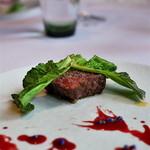 49139063 - <2016年3月>桜肉のステーキ。