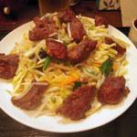 kei楽 - 国内産豚レバー野菜炒め(塩味)