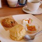 ビーンズ カフェ - 料理写真:スコーンセットとげんこつクッキー