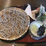 竹りん - 料理写真:天ざる蕎麦